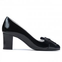 Pantofi eleganti dama 1265-1 lac negru