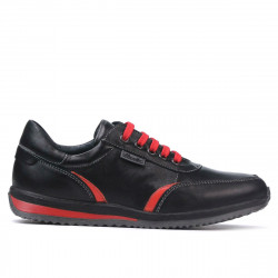 Teenagers stylish, elegant shoes 374 black