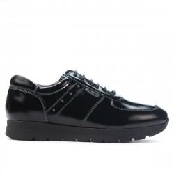Pantofi sport dama 6003 lac negru