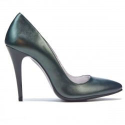 Pantofi eleganti dama 1241 verde sidef