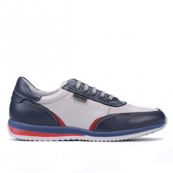 Pantofi sport adolescenti 374 indigo combinat