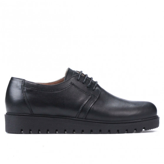 Pantofi casual dama 6007 negru