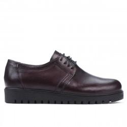 Pantofi casual dama 6007 bordo