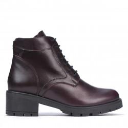Women boots 3329 bordo