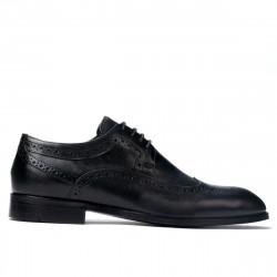 Pantofi eleganti barbati 892m negru (marimi mari)