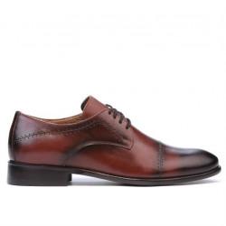 Pantofi eleganti barbati ( marimi mari) 822m a coniac