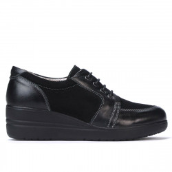 Women casual shoes 6006 black combined