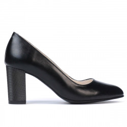 Women stylish, elegant shoes 1273 black