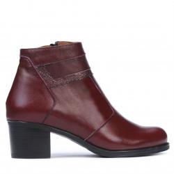 Women boots 3328 bordo