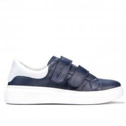 Pantofi sport dama 6008sc indigo+alb