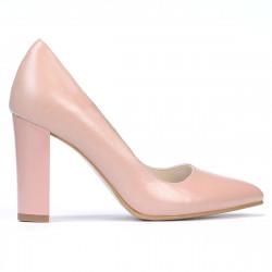 Pantofi eleganti dama 1261 pudra sidef