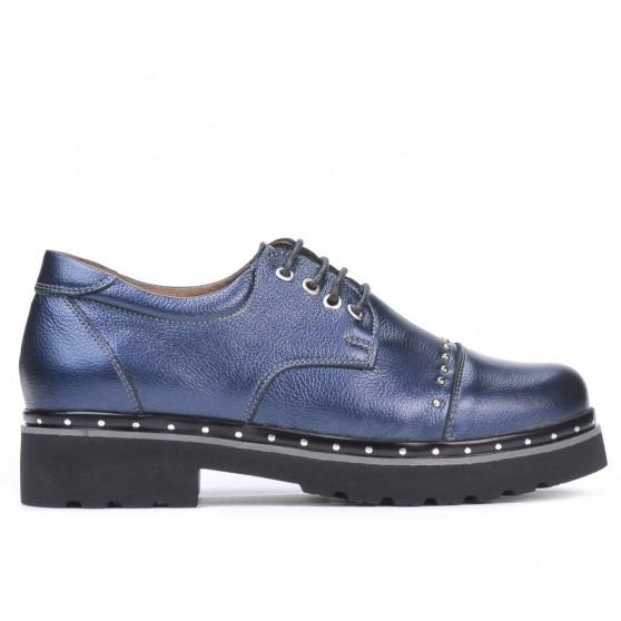 Pantofi casual dama 6009 indigo sidef