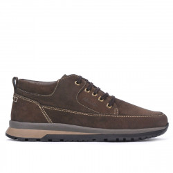 Men casual shoes barbati 4109 bufo cafe