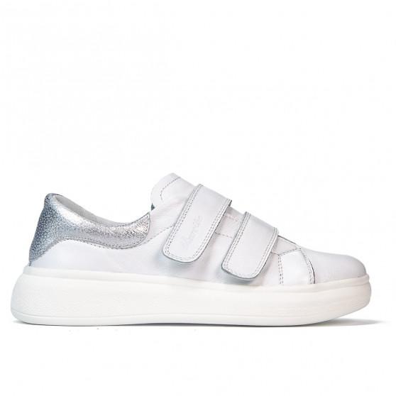 Pantofi sport dama 6008sc alb combinat