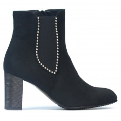 Women boots 1174 black antilopa