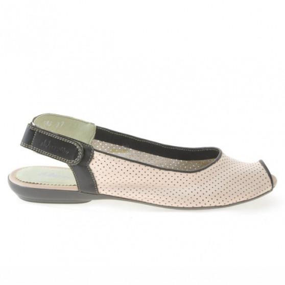 Sandale dama 583 roz+cafe