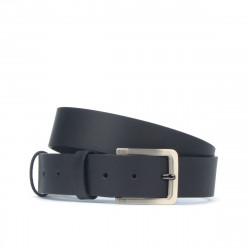 Men belt 34b black