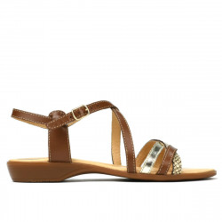 Women sandals 5058 brown combined