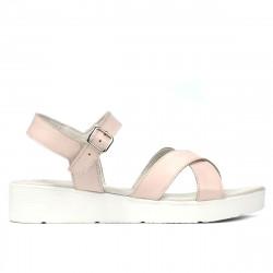 Sandale dama 5049-1 pudra