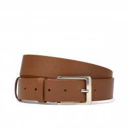 Men belt 05b brown deschis