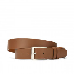 Men belt 14b brown deschis