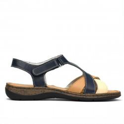 Sandale dama 5046 indigo combinat