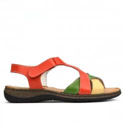 Women sandals 5046 orange combined