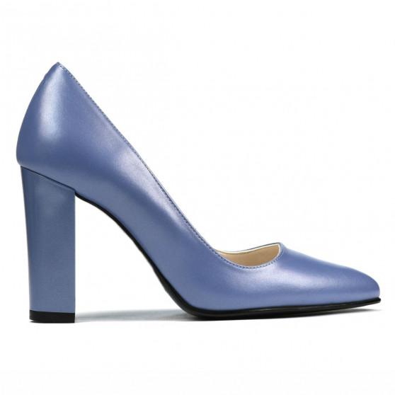 Pantofi eleganti dama 1261 bleu sidef