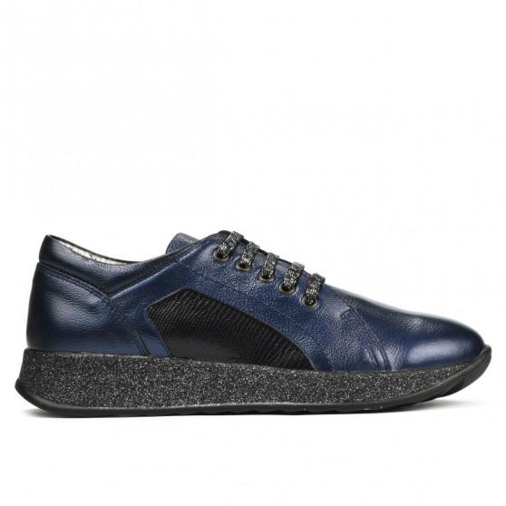 Pantofi sport/casual dama 6010 indigo sidef combinat