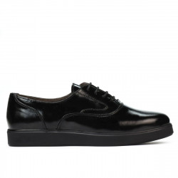 Women casual shoes 664 patent black