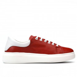 Women sport shoes 6008 red combined