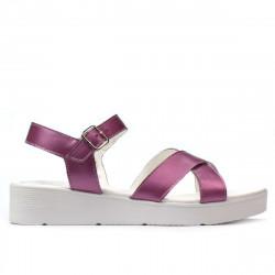 Sandale dama 5049-1 roz sidef