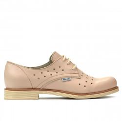 Pantofi casual dama 678 bej
