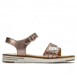 Women sandals 5067 golden
