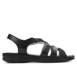 Sandale dama 5062 negru combinat