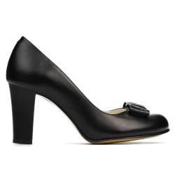 Women stylish, elegant shoes 1245 black