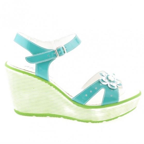 Sandale dama 5006 lac verde