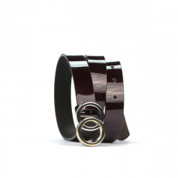 Women belt 09m bordo