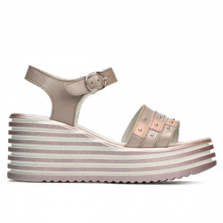 Sandale dama 5064 capucino sidef