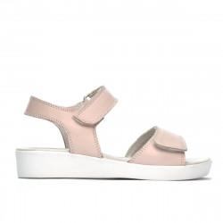 Children sandals 532 pudra