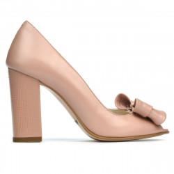 Women sandals 1271 pudra pearl