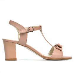 Sandale dama 1257 pudra sidef