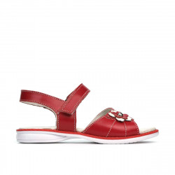 Small children sandals 55c red