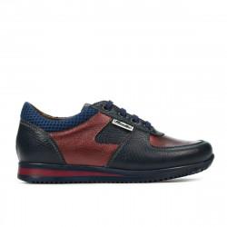 Children shoes 2002 indigo+bordo