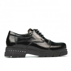 Pantofi copii 2003 lac negru