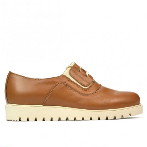 Pantofi casual dama 6018 maro