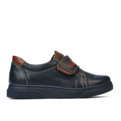 Children shoes 2004 indigo+brown