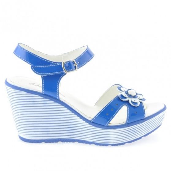 Sandale dama 5006 lac albastru