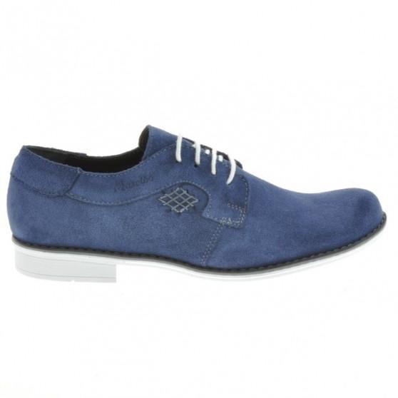 Pantofi eleganti adolescenti 390 indigo velur
