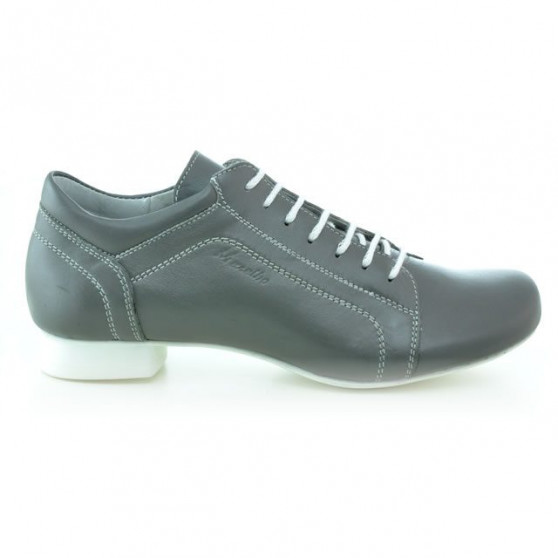 Women casual shoes 645 gray